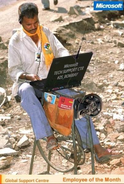 印度微软技术员