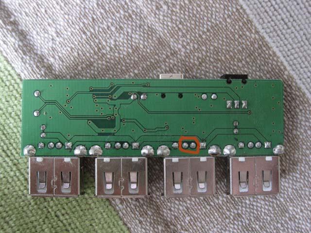 贝尔金F5U404-BLK 4口USB hub