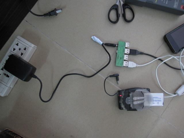用USB hub做USB电源扩展