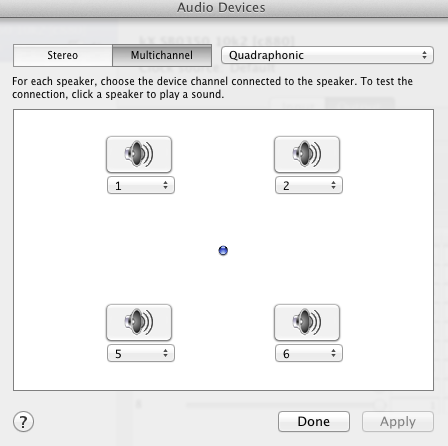 mac speakers setup